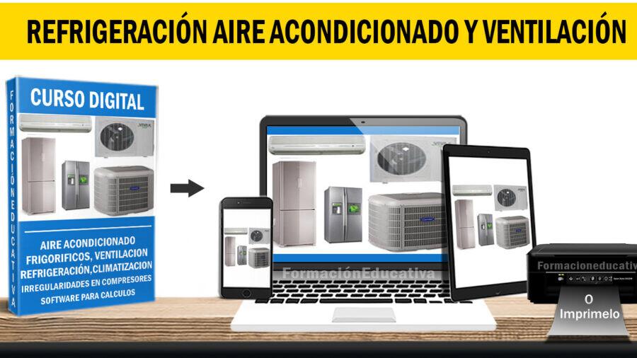 Curso refrigeración, aire acondicionado y ventilación